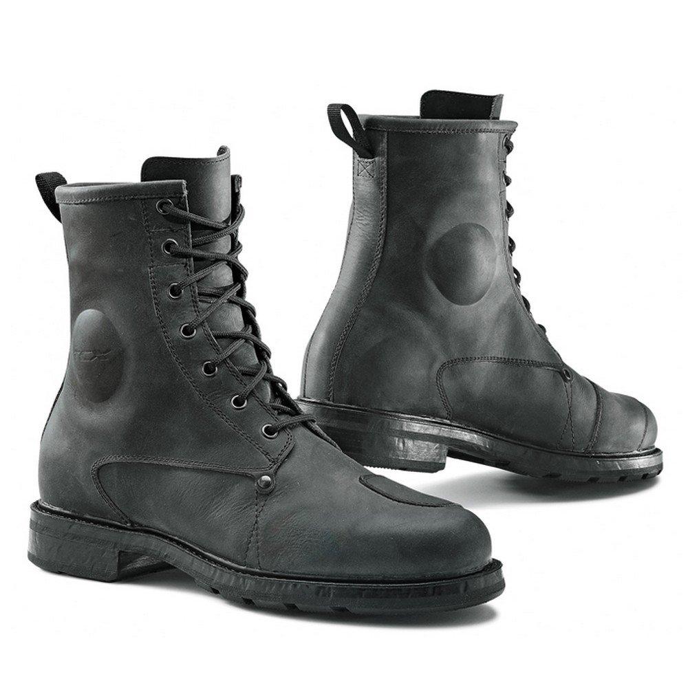 TCX X-Blend Waterproof Vintage Mens Street Boots Black 43 EUR/9 USA