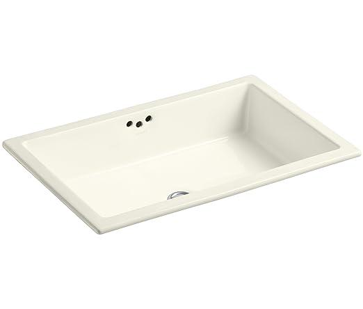 kohler k229796 kathryn bathroom sink biscuit bathroom sinks amazoncom
