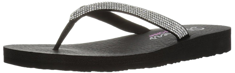 4e4918a49932 Skechers Women s s Meditation Break Water Flip-Flop Black  Amazon.co.uk   Shoes   Bags