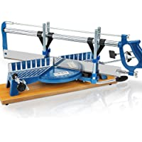 Precision Mitre Saw 550 mm Adjustable Compound Mechanical Heavy Duty Wood Angle Sawing Tool