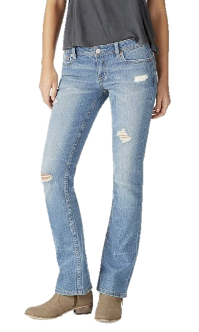 bb996a59982 Amazon.com: Aeropostale Womens Boot Cut Jeans Distressed: Clothing