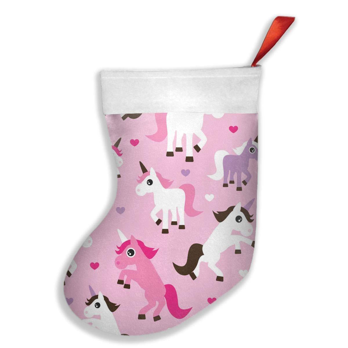 PO1 UP Unicorn Pink Christmas Stocking