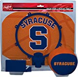NCAA Syracuse Orange Kids Slam Dunk Hoop Set, Orange, Small