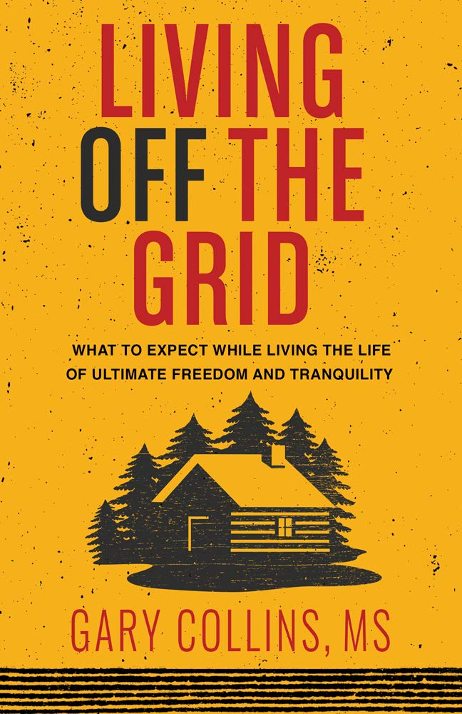 Living Off The Grid cabin coffee table book