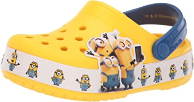 Crocs Kids' Boys and Girls Minions Clog
