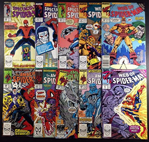 Amazing Spider-Man 326-329 Web 59-61 SSM 158-160 complete set of 10 Cosmic Power