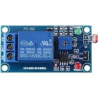 1Pc 12V Estable Sensor de luz Interruptor LDR