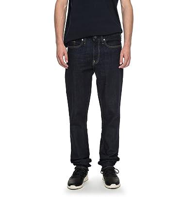 452f9a6b9206c DC Shoes Worker Indigo Rinse - Slim Fit Jeans for Men - Slim Fit Jeans - Men   DC Shoes  Amazon.co.uk  Clothing