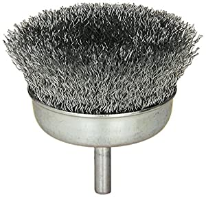 Amazoncom Black  Decker  Inch Wire Cup Brush Coarse - Vinyl cup brush
