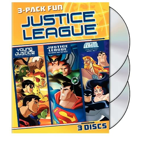 Justice League 3 Pack Fun (DVD)