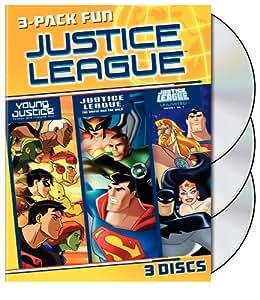 Justice League 3 Pack Fun