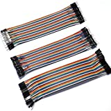 Gikfun 3 x 40P 20cm Dupont Wire Jumper Cable 2.54 1P-1P Male-Male/Female-Female/Female-Male EK8403