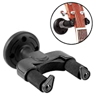 Guitar Hanger Hook, KATUMO® Guitar Hanger Hook Holder Wall Mount for Guitar, Bass, Mandolin, Banjo, Violin, Ukulele and Fiddle(2pcs)