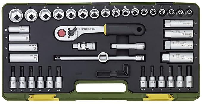 "1 opinioni per Proxxon 23282- Set chiavi a tubo, 3/8"", 47 pezzi"