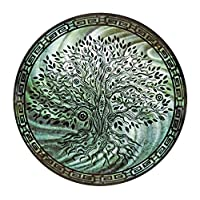 """Next Innovations Wall Art Decor Tree of Life Teal 24"""" Round"""