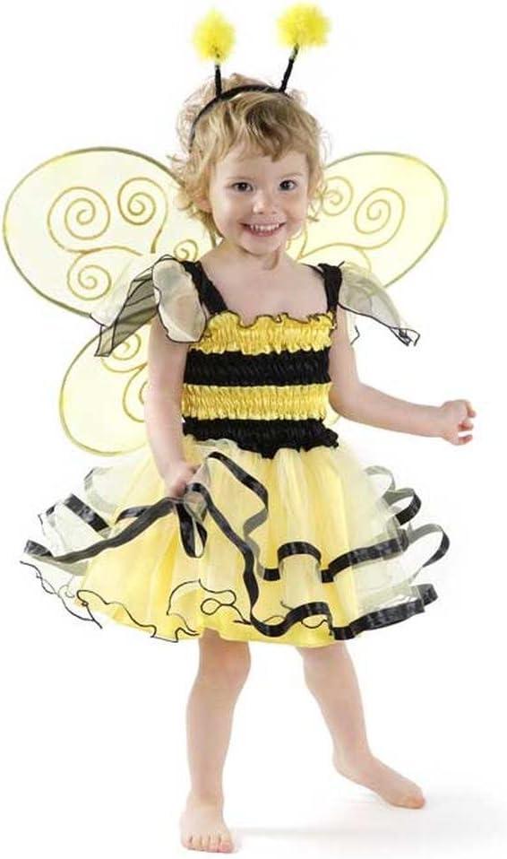 Grandes imitaciones - Disfraz de abeja para niña (de 2/4 años ...