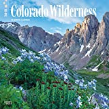 Colorado Wilderness 2018 12 x 12 Inch Monthly Square Wall Calendar, USA United States of America Rocky Mountain State Nature