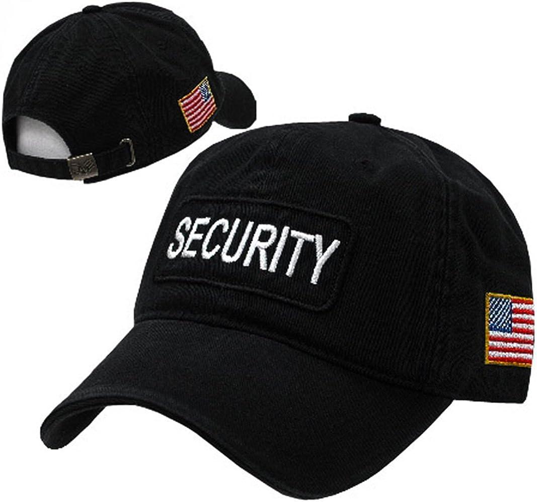 Rapiddominance Security Dual Flag Raid Cap
