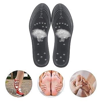 Magnetische Einlegesohlen 2 Paar Euphoric Feet Akupressur Einlege OrthopäDische.