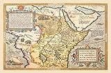 Nautical Ortelius Map Northeastern Africa Print 20'' X 30''