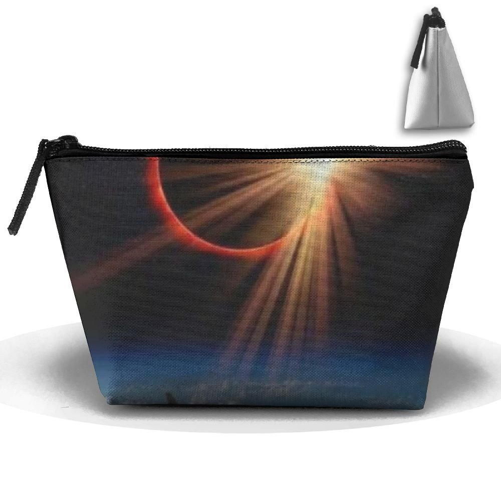 WQWSVX Solar Eclipse Fashion Travel Bag Trapezoid