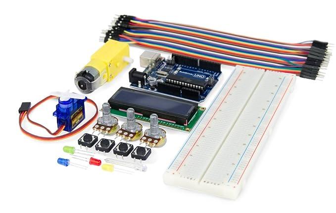 Ebotics Build&Code Basic, Kit de Creación electrónica y Programación para Arduino, nivel básico