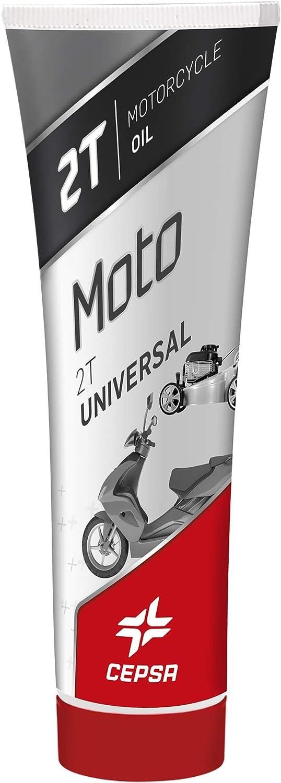 CEPSA Universal 250ml Lubricante para Todo Tipo de Motos de 2T