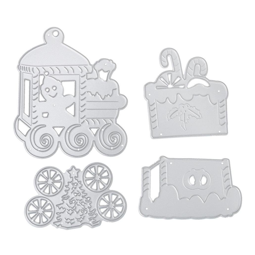 Christmas Train Cutting Dies