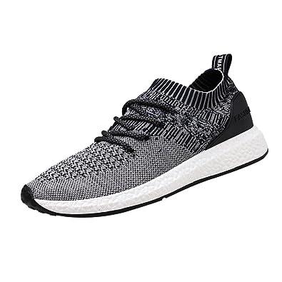 Logobeing Zapatillas de Running para Hombre - Zapatillas de Deporte de Malla Cruzada Malla Transpirable Zapatillas de Correr: Amazon.es: Zapatos y ...