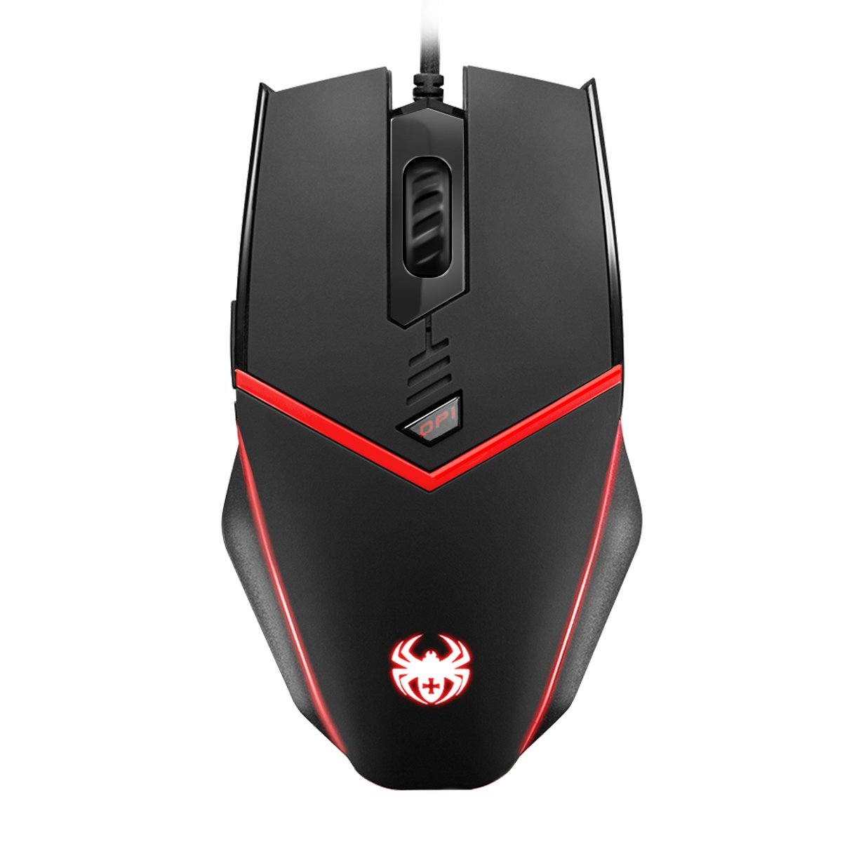 8 Adjustable Weights Adjustable DPI 500-3200 6 Programmable Button Ergonomic USB Wired Optical Mouse Mice Programable Driver Criacr Gaming Mouse