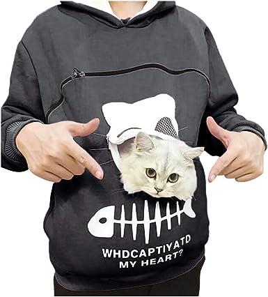 Womens Long Sleeve Go Beyond Plus Ultra Umbilical Cat Ear Sweater