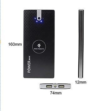 Amazon.com: RFI Power Bank Dual USB Powerbank Cargadores de ...