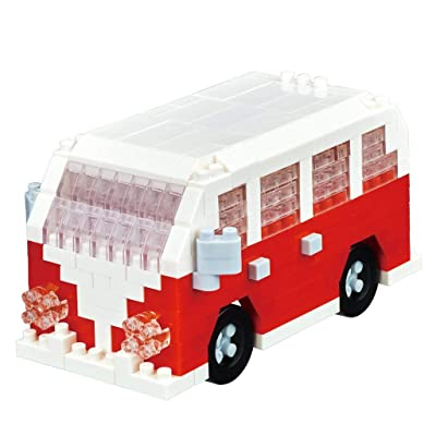 Nanoblock Minivan Building Kit: Toys & Games