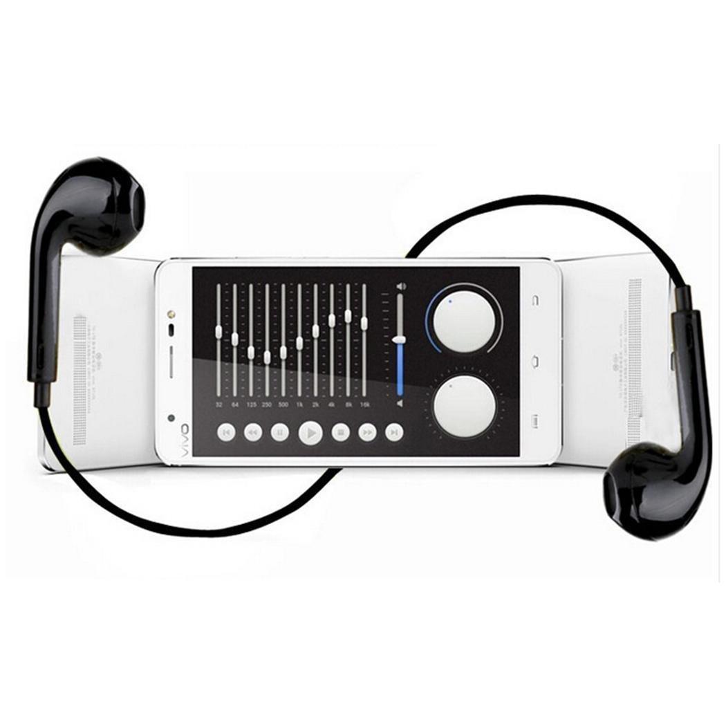 Onbio Sport Wireless Headset V4.1 Stereo Bluetooth Headset w/Mic In-Ear Earphones (#1-Black)