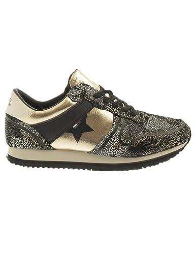 Zapatillas Tommy Hilfiger L1385AGOON Khaki Dorado 38: Amazon.es: Zapatos y complementos