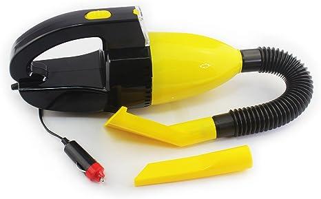 emi sports Aspirador portatil para Limpieza de Coche con Filtro Lavable y luz de Trabajo para Suciedad en humedo y seco: Amazon.es: Hogar