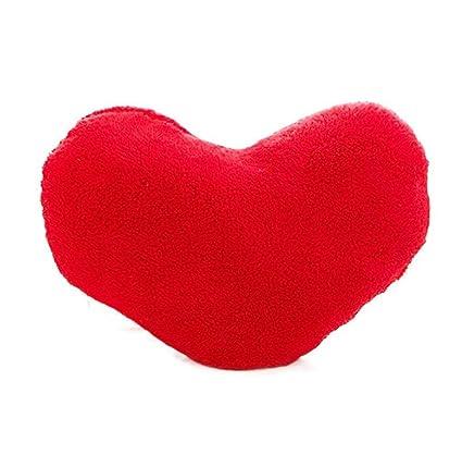 RETUROM Almohada en forma de corazón (rojo): Amazon.es: Hogar