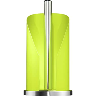 Wesco - German Designed – Steel Paper Towel and Toilet Paper Holder, Lime Green