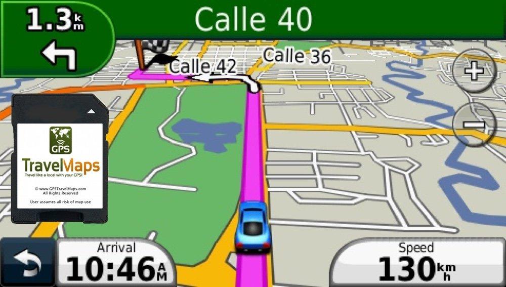 Amazoncom Costa Rica GPS Map for Garmin Units SD Memory Card