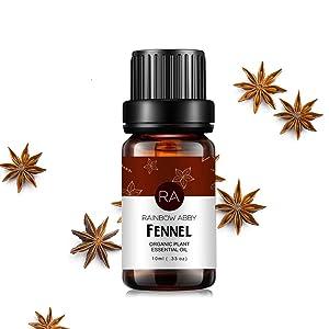 Fennel Essential Oil 100% Pure, Aromatherapy Therapeutic Grade Essential Oil for Diffuser, 10ML