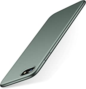 TORRAS Slim Fit for iPhone SE 2020 Case/iPhone 7 Case/iPhone 8 Case, Full Protective Anti-Scratch Phone Case Compatible for iPhone SE Case (2nd)/iPhone 7/8, Midnight Green