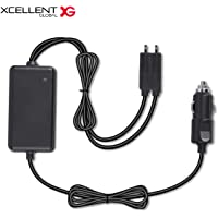 Xcellent Global Car Quick Charge Adapter for DJI Mavic Air Batteries with Dual Output & Safety Cover DR013