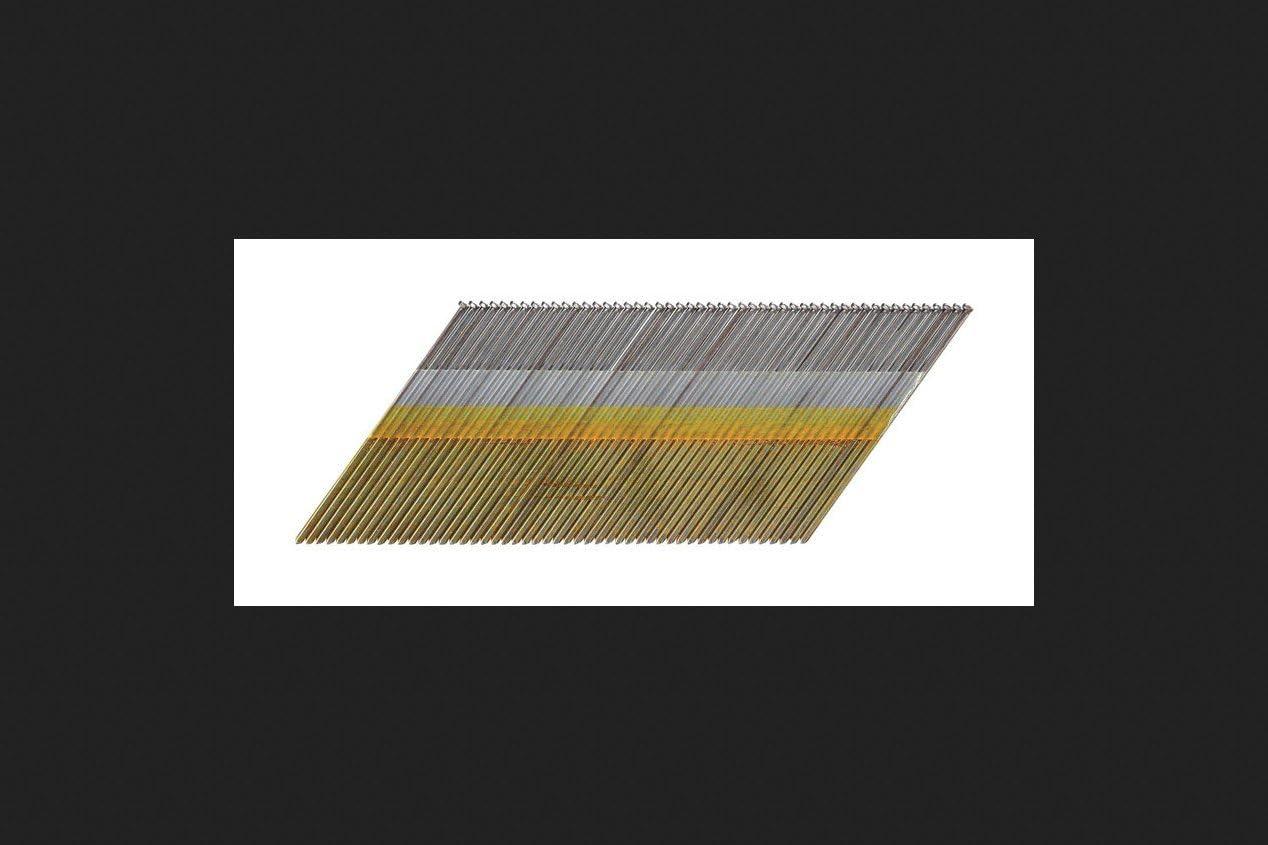 """Angle Finish Nails 15 Gauge Galvanized 2-1//2/"""" Long 4000 pcs"""