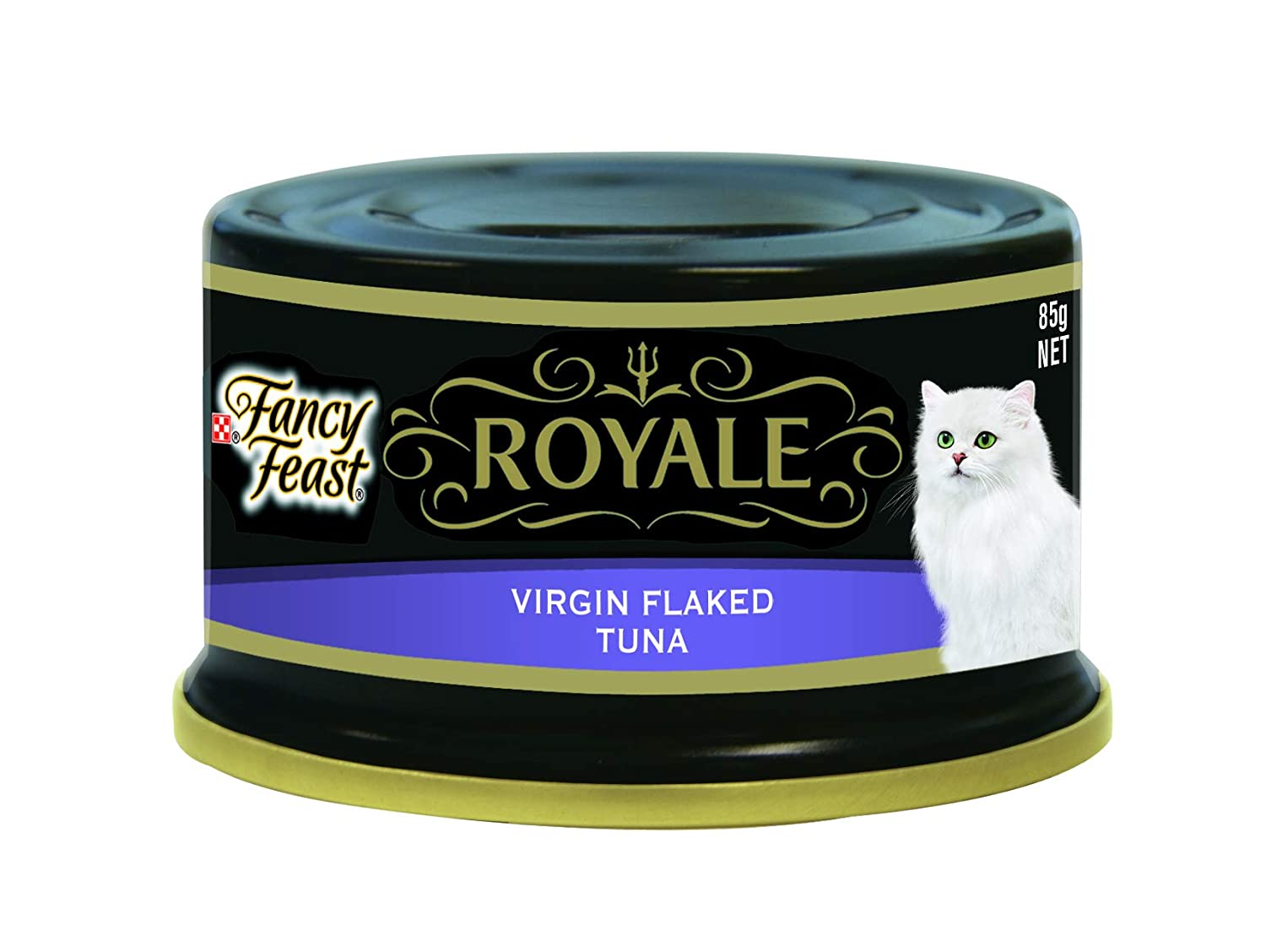 Fancy Feast Royale Virgin Flaked Tuna, 24X85g