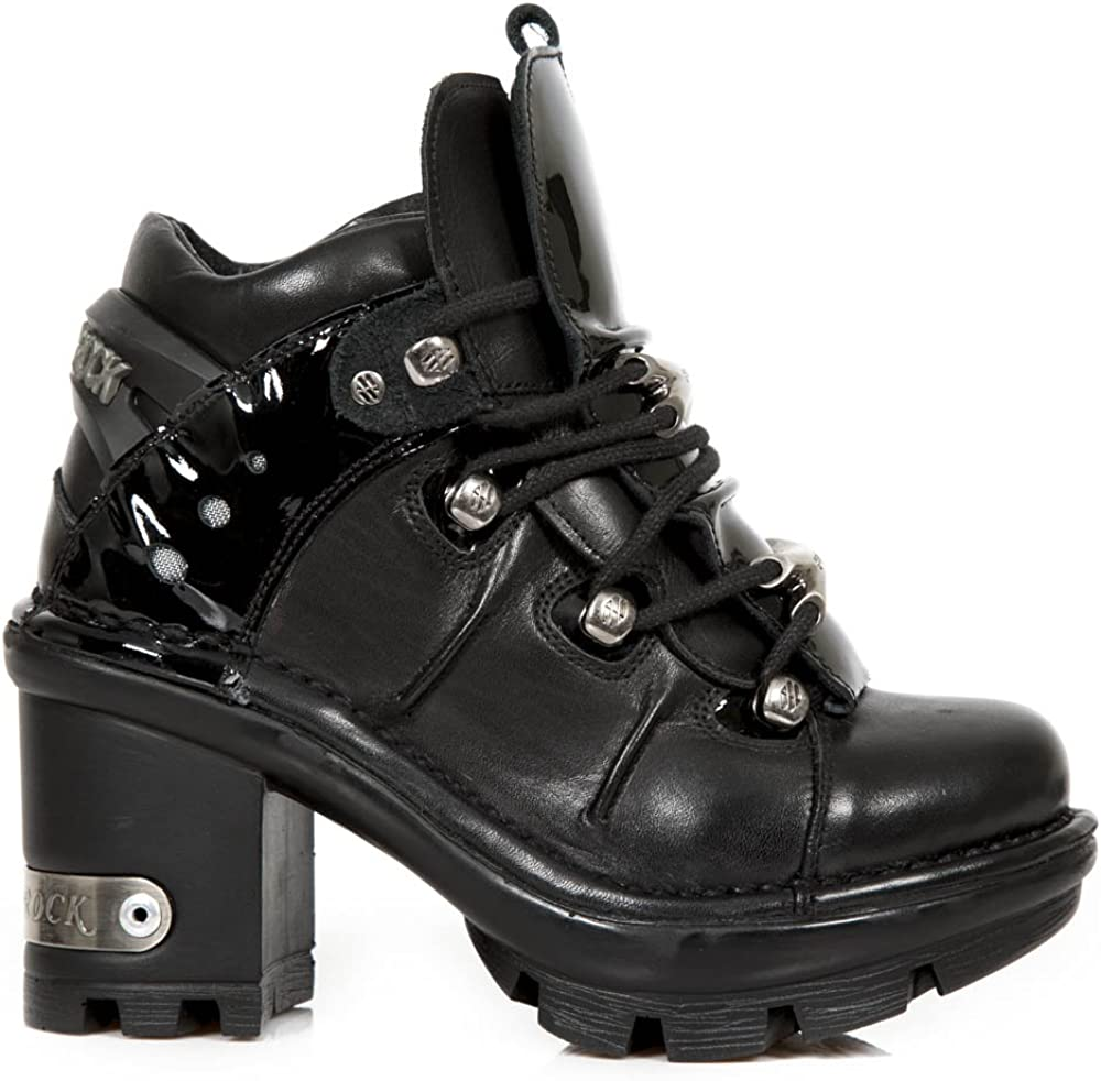 New Rock Womens Neotyre Leather Boots