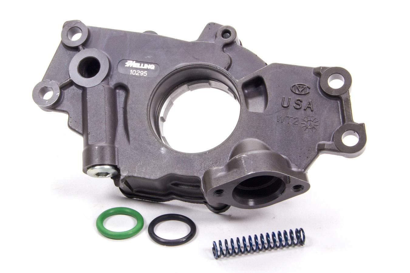 Melling-10295 Oil Pump, Wet Sump, Internal, Standard Volume, High Pressure, GM LS-Series, Each