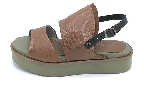Sandalo Pelle 40 Lilimill Cuoio Cinturino Scarpa 6654 Taglia QCdhrxts