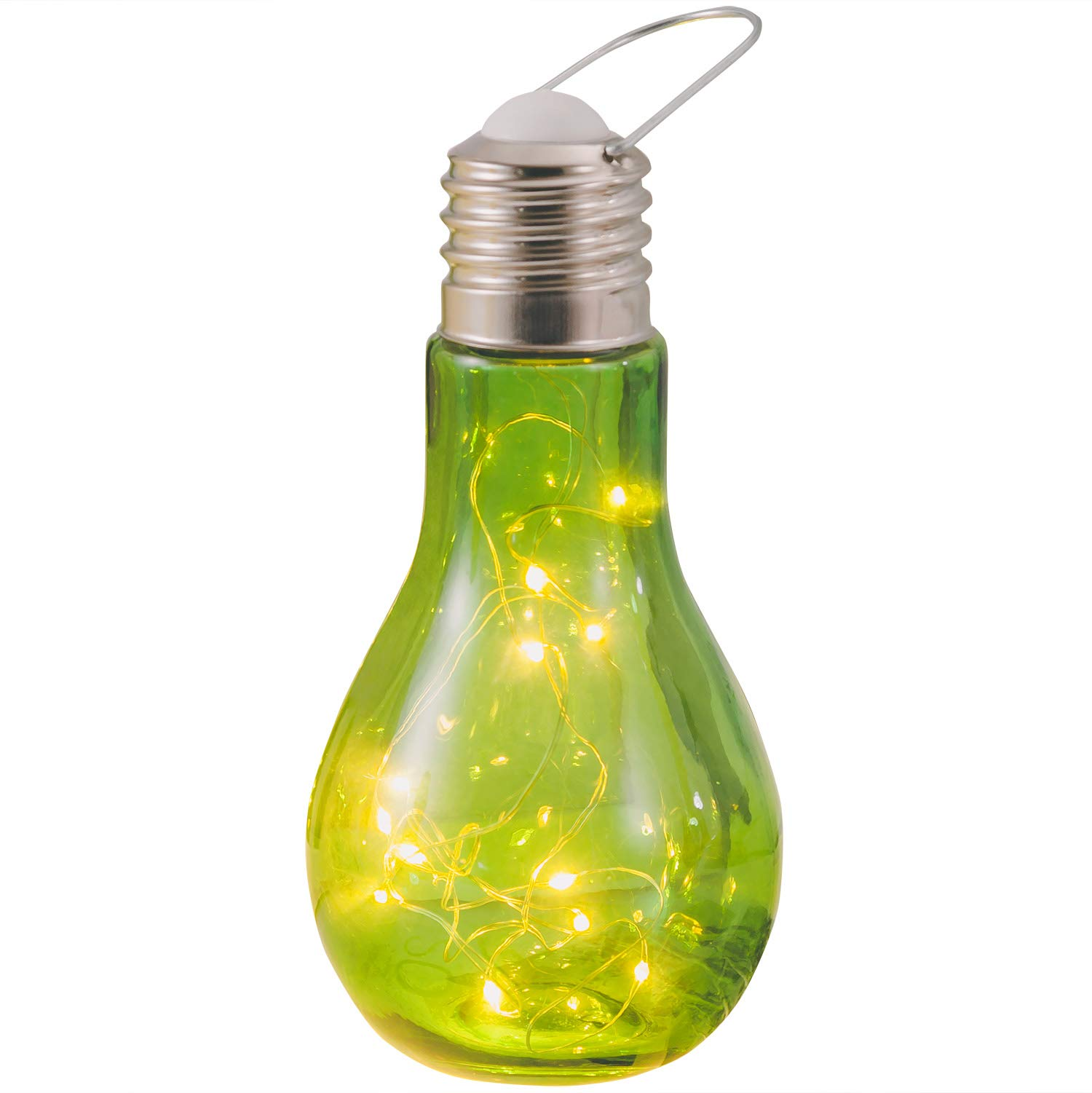 Newest Glass Ball Table Lamps Hanging Starry Led Night Light Bulb Design Bedside Baby Nursery Lamp Room Decor for Women Kids Toy Wedding Party Decorations Christmas Valentine's Day Gift (Green)