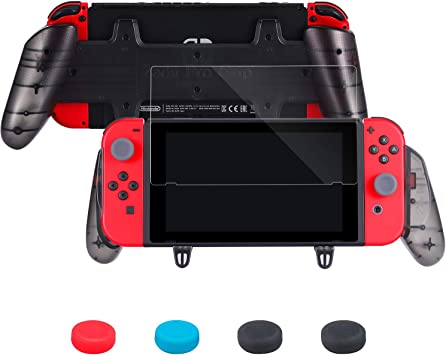 Zadii ergonómico Pro Grip Compatible con Nintendo Switch, Kit de ...