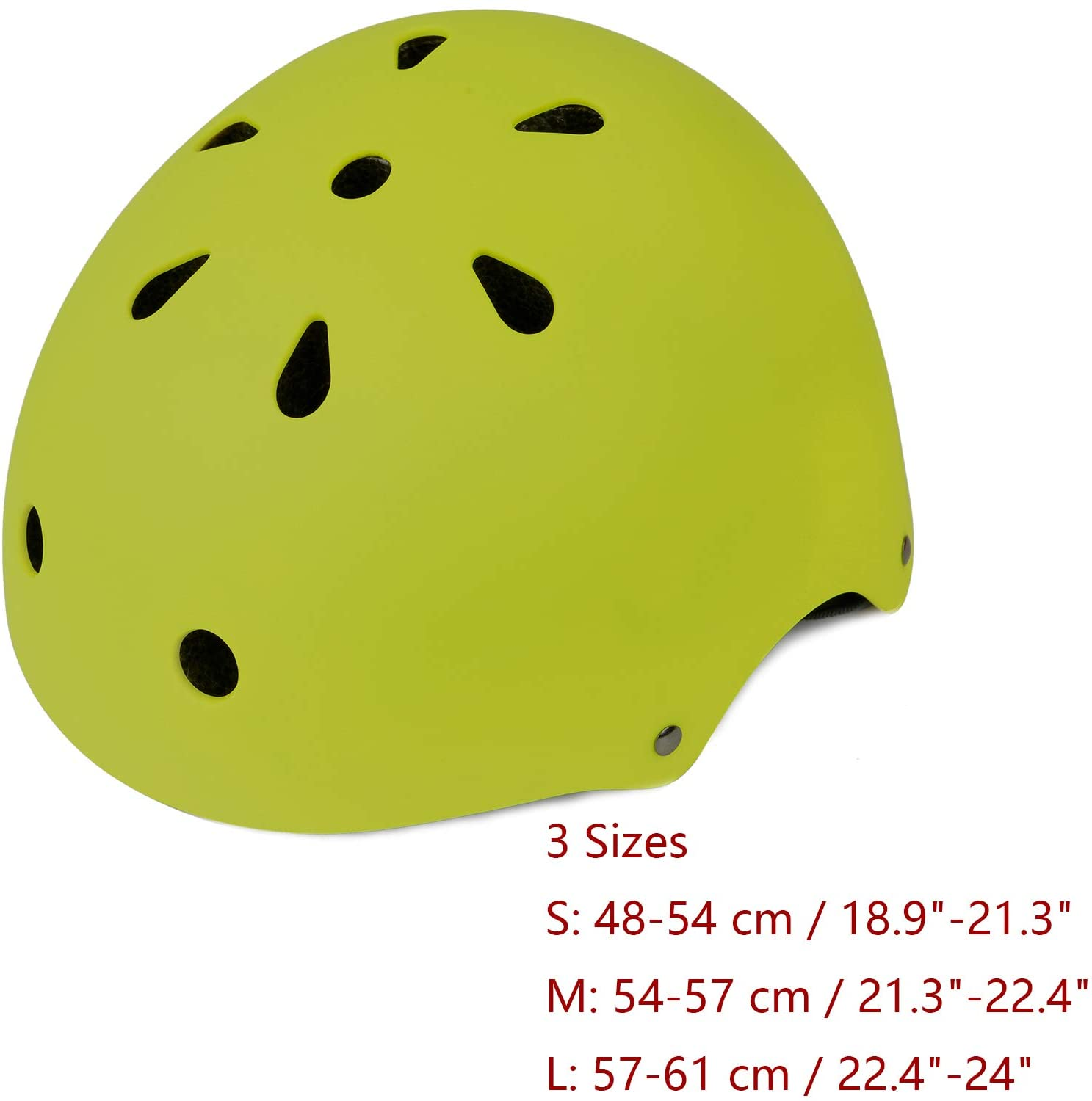 Adjustable and Multi-Sport from Toddler to Youth 3 Sizes OUWOER Kids Bike Helmet CPSC Certified